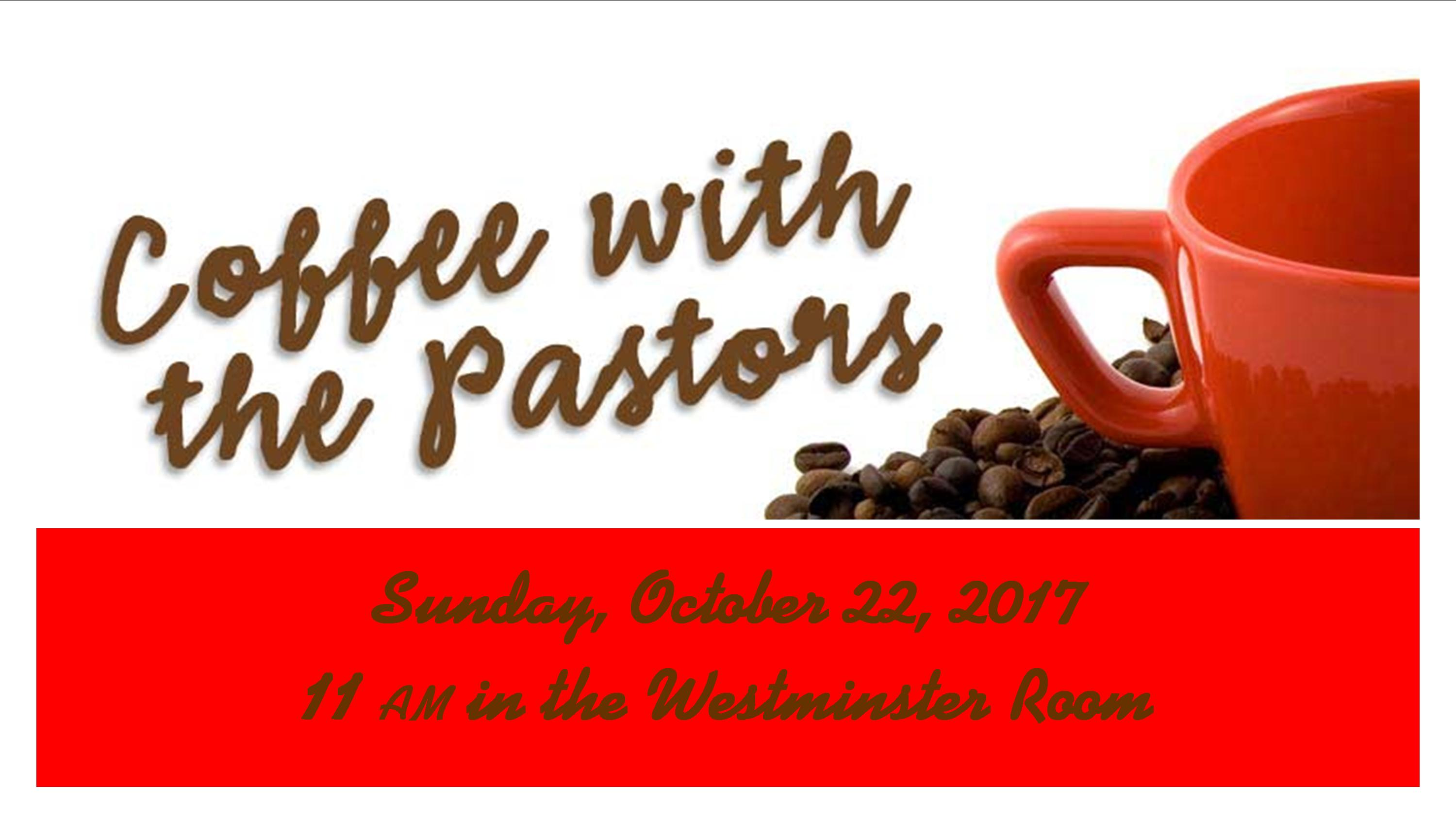 Coffee-with-the-PastorS