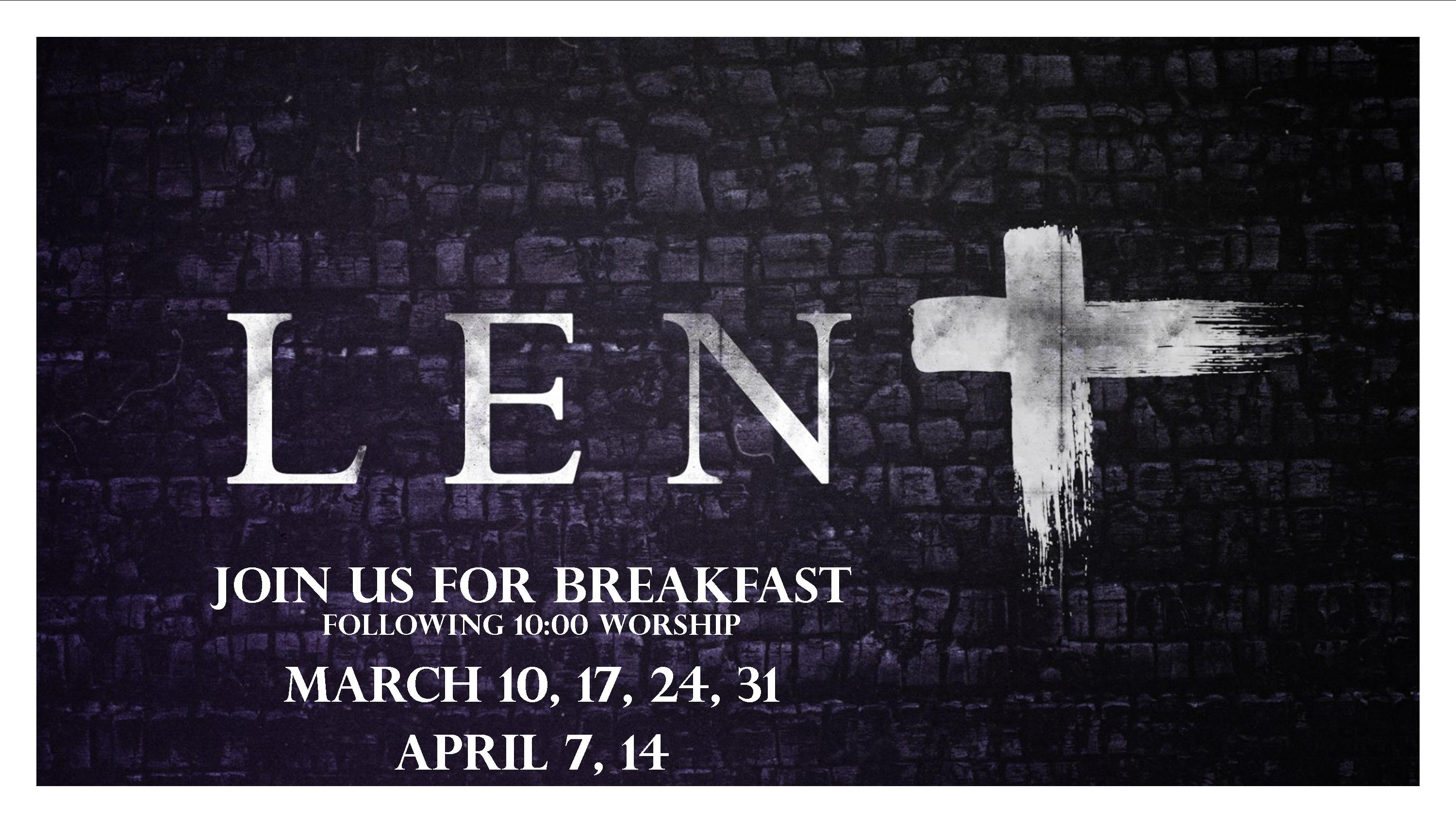 Lenten-Breakfasts